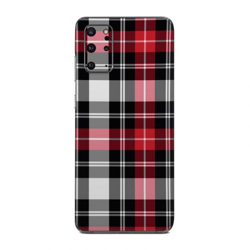 Red Plaid Samsung Galaxy S20 Plus 5G Skin