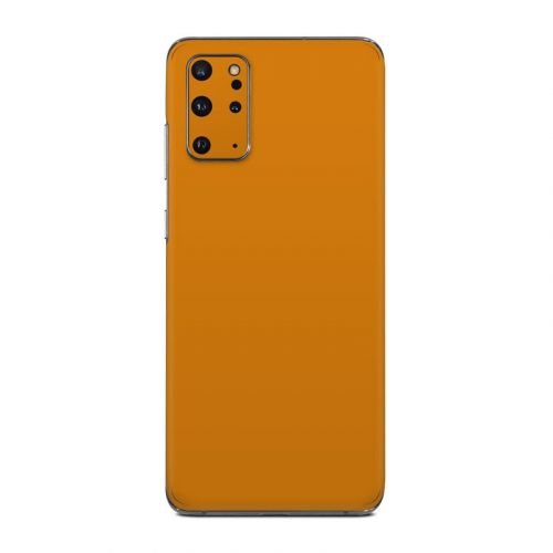 Solid State Orange Samsung Galaxy S20 Plus 5G Skin