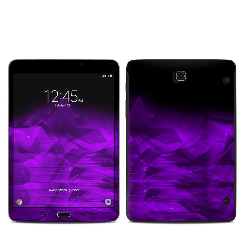 Dark Amethyst Crystal Samsung Galaxy Tab S2 8.0 Skin