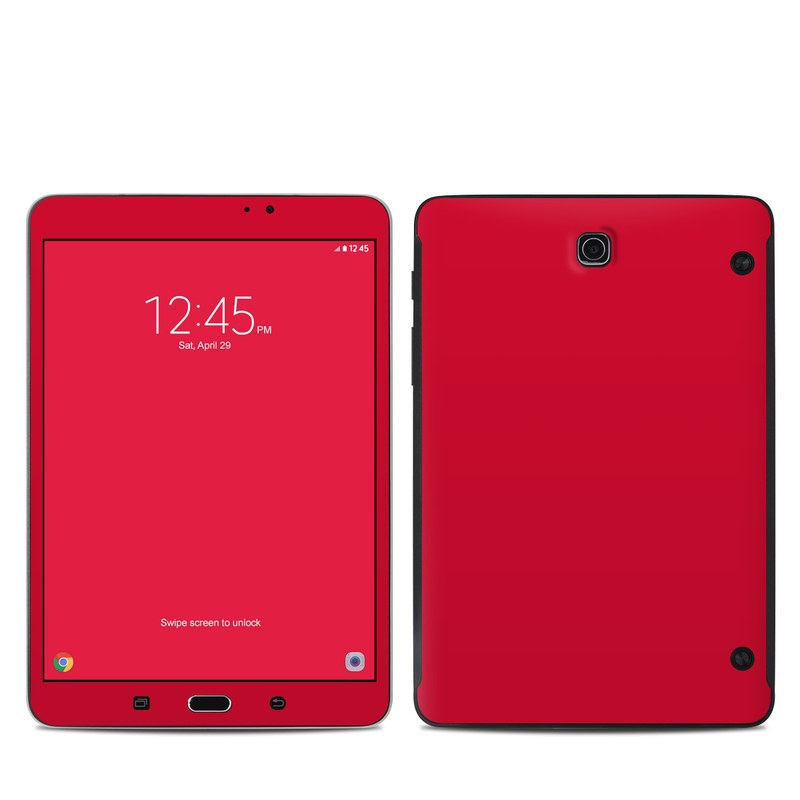 Solid State Red Samsung Galaxy Tab S2 8.0 Skin