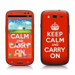Keep Calm Samsung Galaxy S III Skin