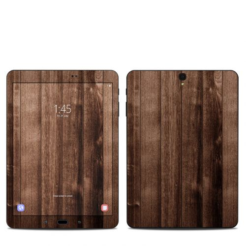 Stained Wood Samsung Galaxy Tab S3 9.7 Skin