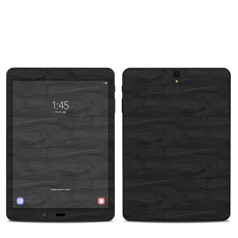 Black Woodgrain Samsung Galaxy Tab S3 9.7 Skin
