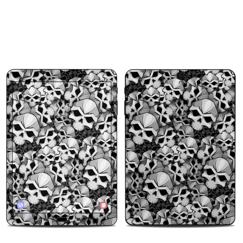 Samsung Galaxy Tab S3 9.7 Skin design of Pattern, Black-and-white, Monochrome, Ball, Football, Monochrome photography, Design, Font, Stock photography, Photography with gray, black colors