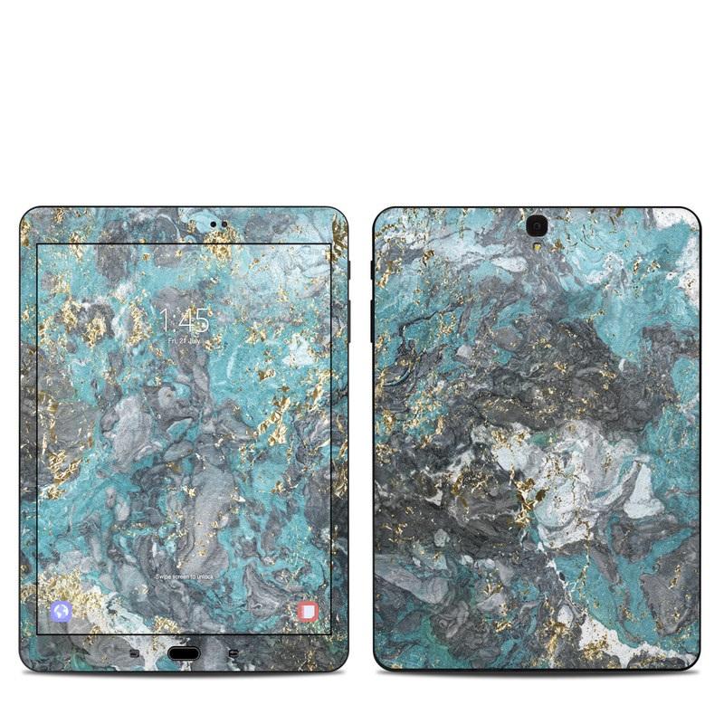 Gilded Glacier Marble Samsung Galaxy Tab S3 9.7 Skin