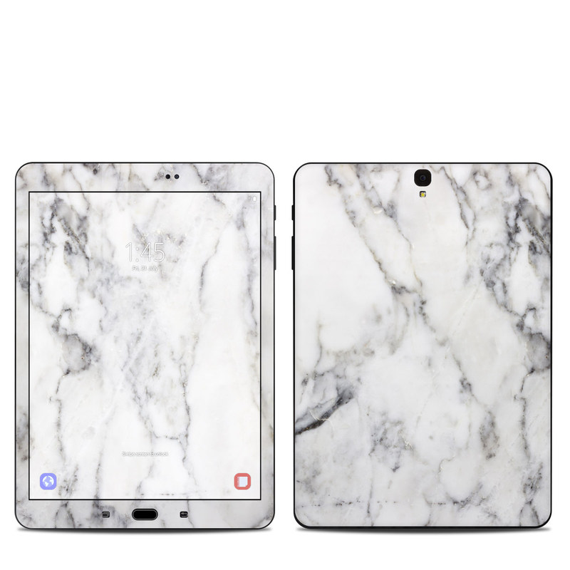 White Marble Samsung Galaxy Tab S3 9.7 Skin