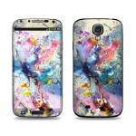 Cosmic Flower Samsung Galaxy S4 Skin
