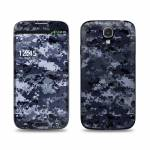 Digital Navy Camo Samsung Galaxy S4 Skin