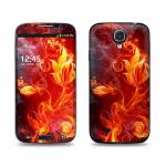 Flower Of Fire Samsung Galaxy S4 Skin