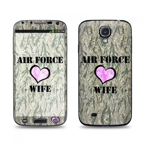 Air Force Wife Galaxy S4 Skin