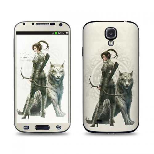 Half Elf Girl Galaxy S4 Skin