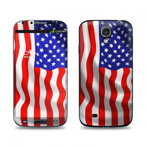 USA Flag Galaxy S4 Skin