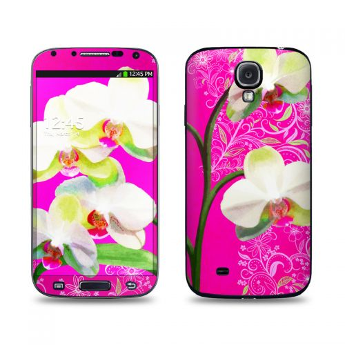 Hot Pink Pop Galaxy S4 Skin