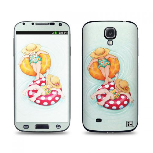 Inner Tube Girls Galaxy S4 Skin