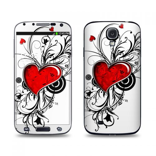 My Heart Galaxy S4 Skin