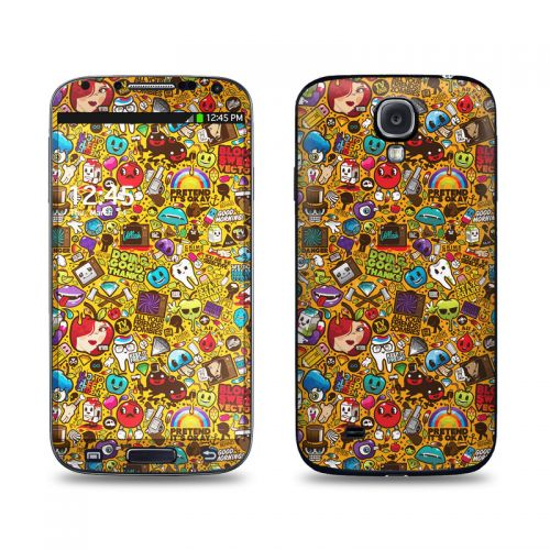 Psychedelic Galaxy S4 Skin