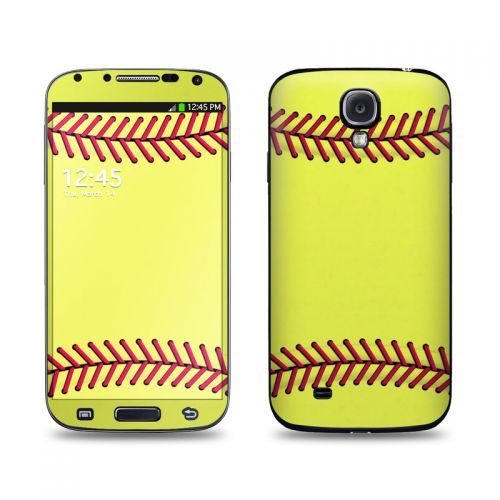 Softball Galaxy S4 Skin