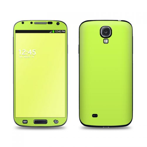 Solid State Lime Galaxy S4 Skin