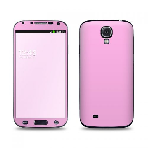 Solid State Pink Galaxy S4 Skin