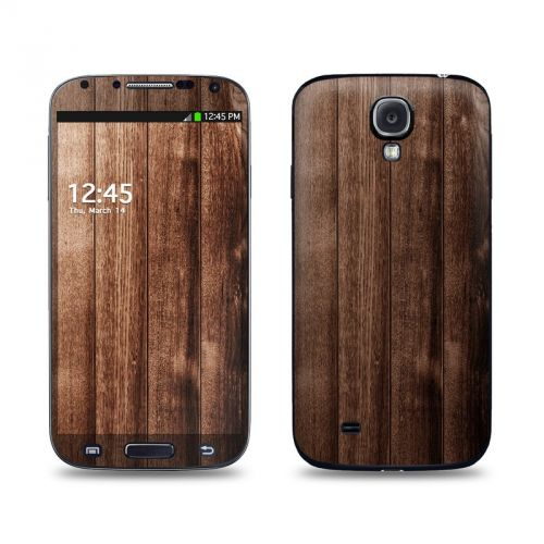 Stained Wood Galaxy S4 Skin