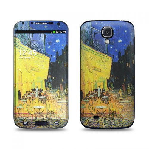 Cafe Terrace At Night Galaxy S4 Skin