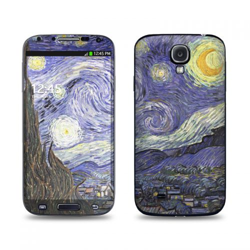 Starry Night Galaxy S4 Skin