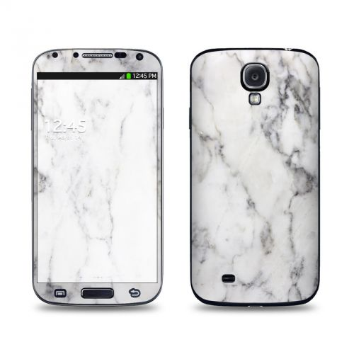 White Marble Galaxy S4 Skin