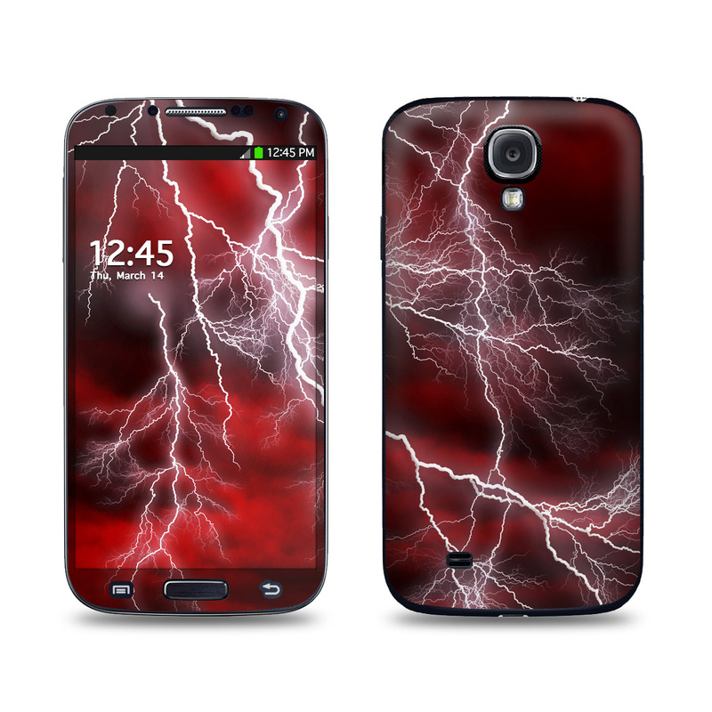 Apocalypse Red Galaxy S4 Skin