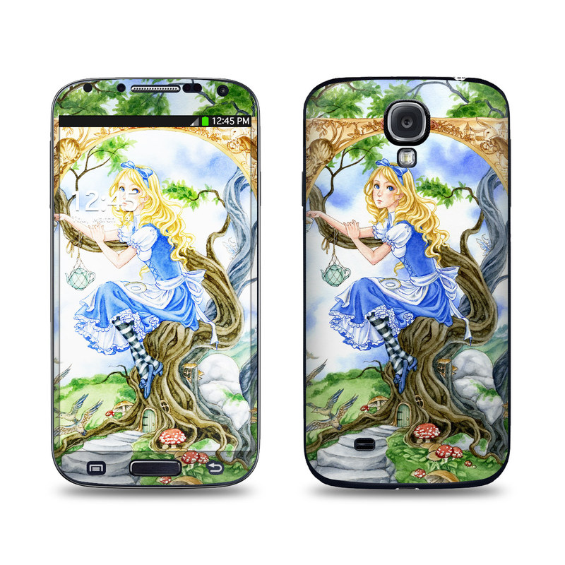 Alice's Tea Time Galaxy S4 Skin