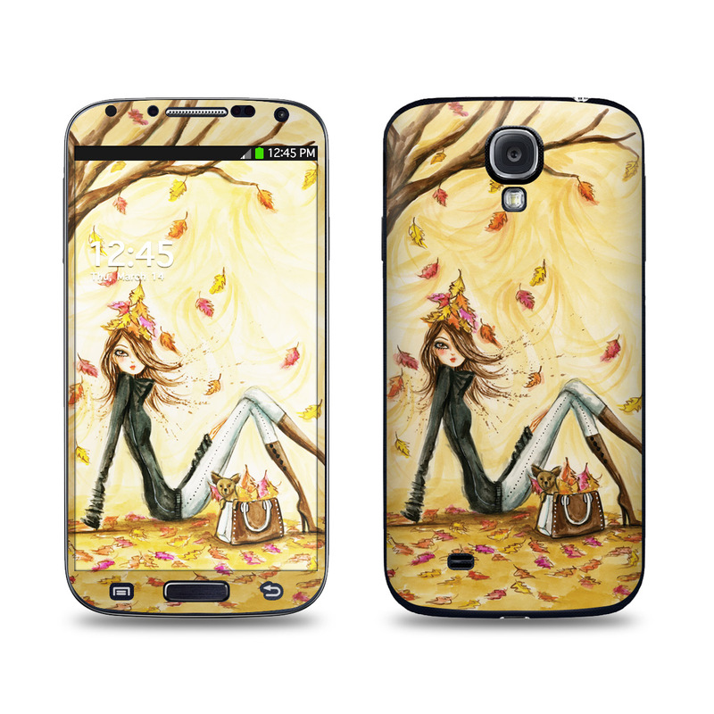 Autumn Leaves Galaxy S4 Skin