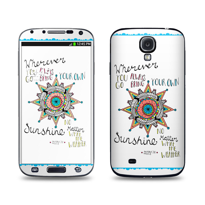 Bring Your Own Galaxy S4 Skin