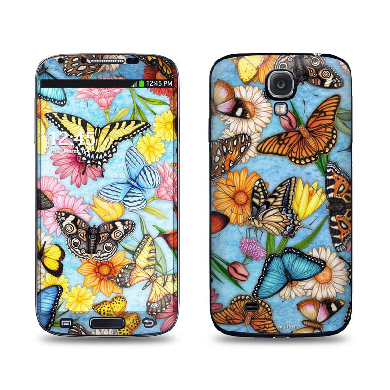 Butterfly Land Galaxy S4 Skin