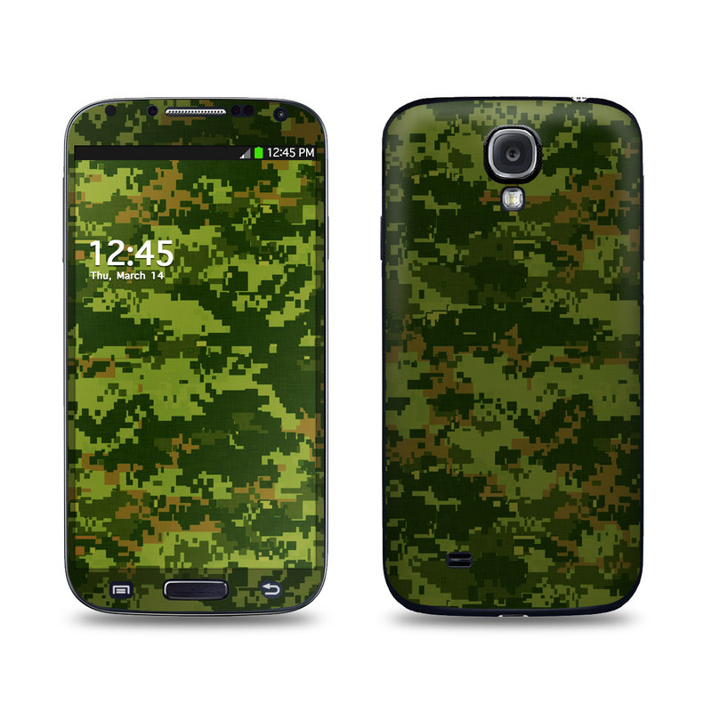 CAD Camo Galaxy S4 Skin