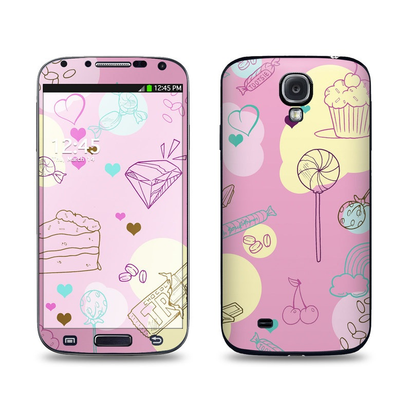 Pink Candy Galaxy S4 Skin