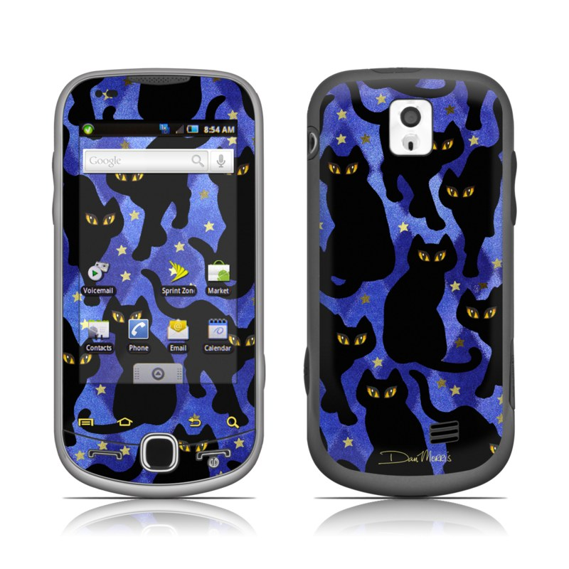Cat Silhouettes Galaxy S4 Skin