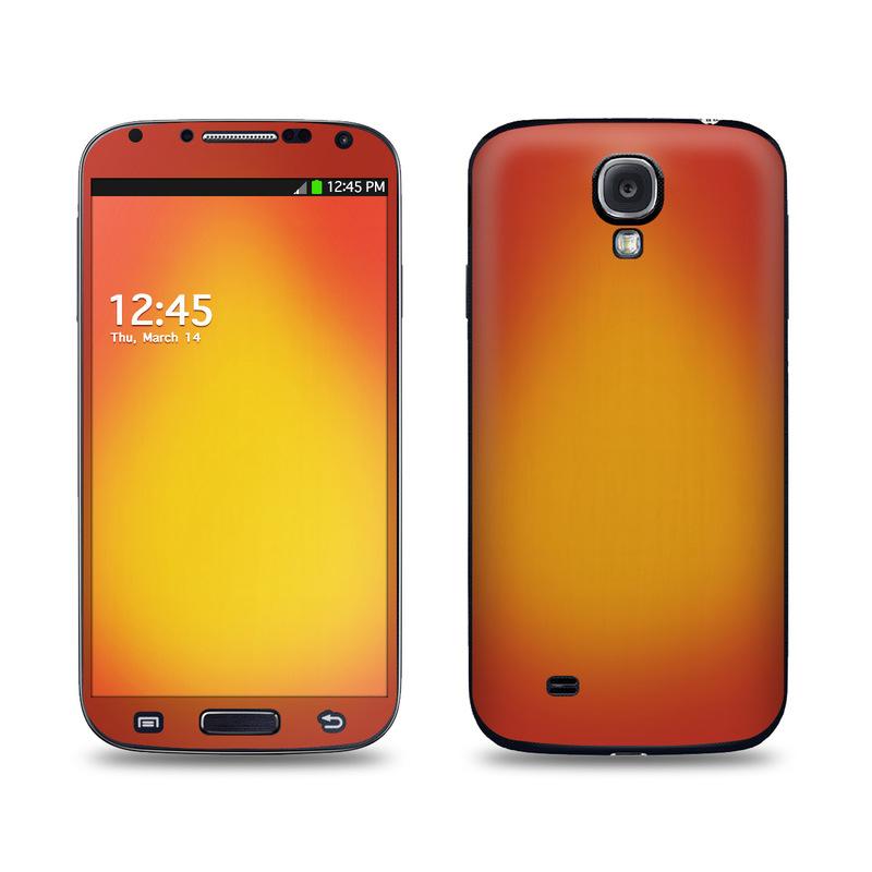 Cherry Sunburst Galaxy S4 Skin