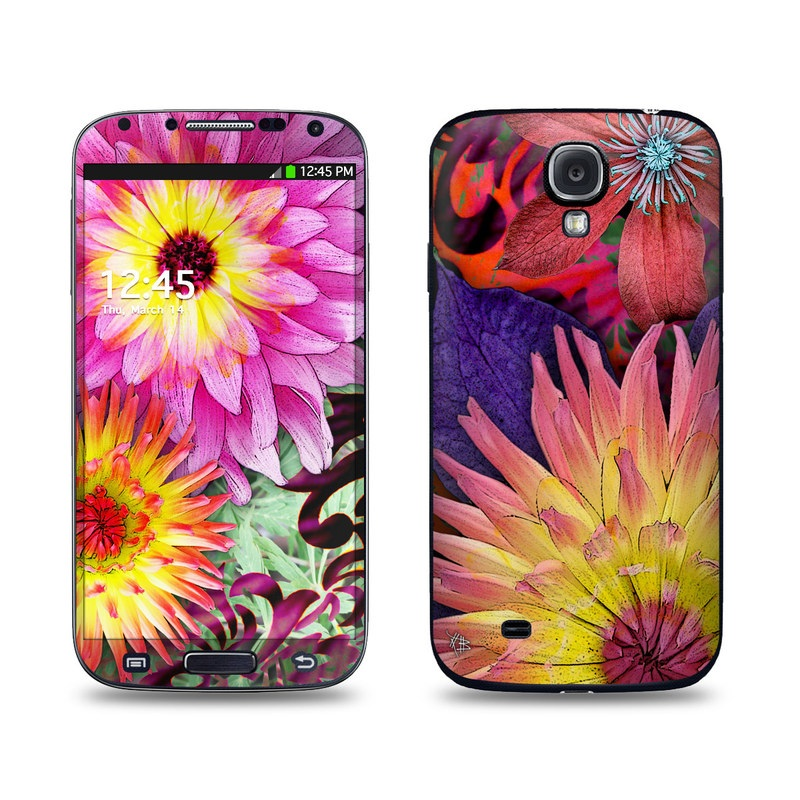 Cosmic Damask Galaxy S4 Skin
