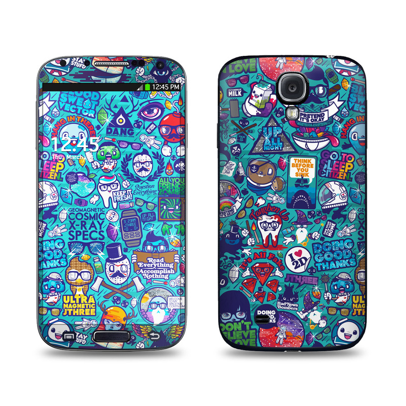 Cosmic Ray Galaxy S4 Skin