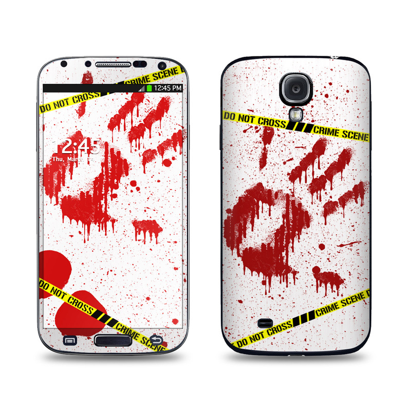 Crime Scene Revisited Galaxy S4 Skin