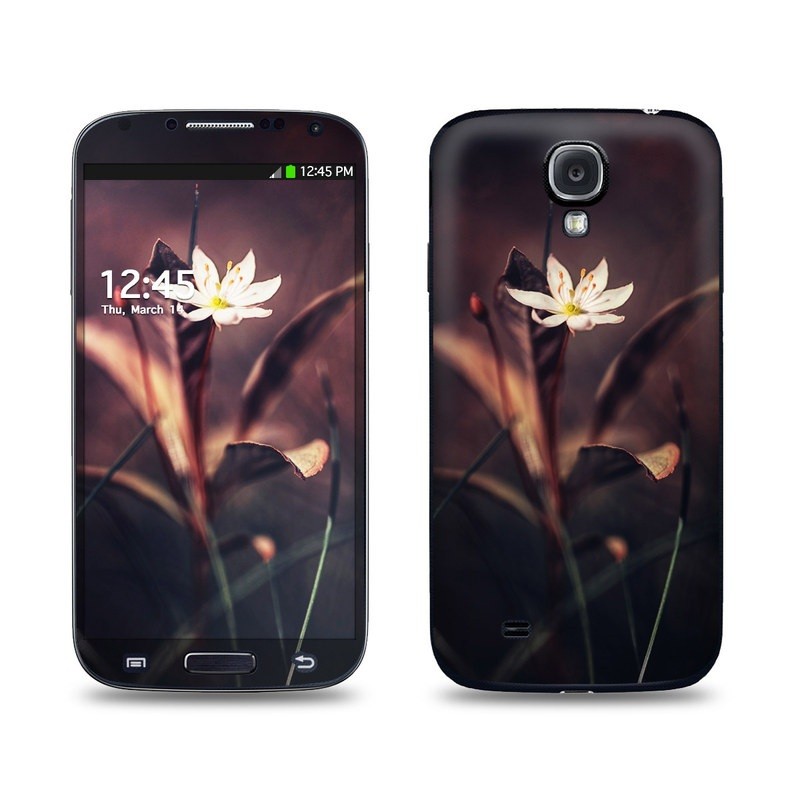 Delicate Bloom Galaxy S4 Skin