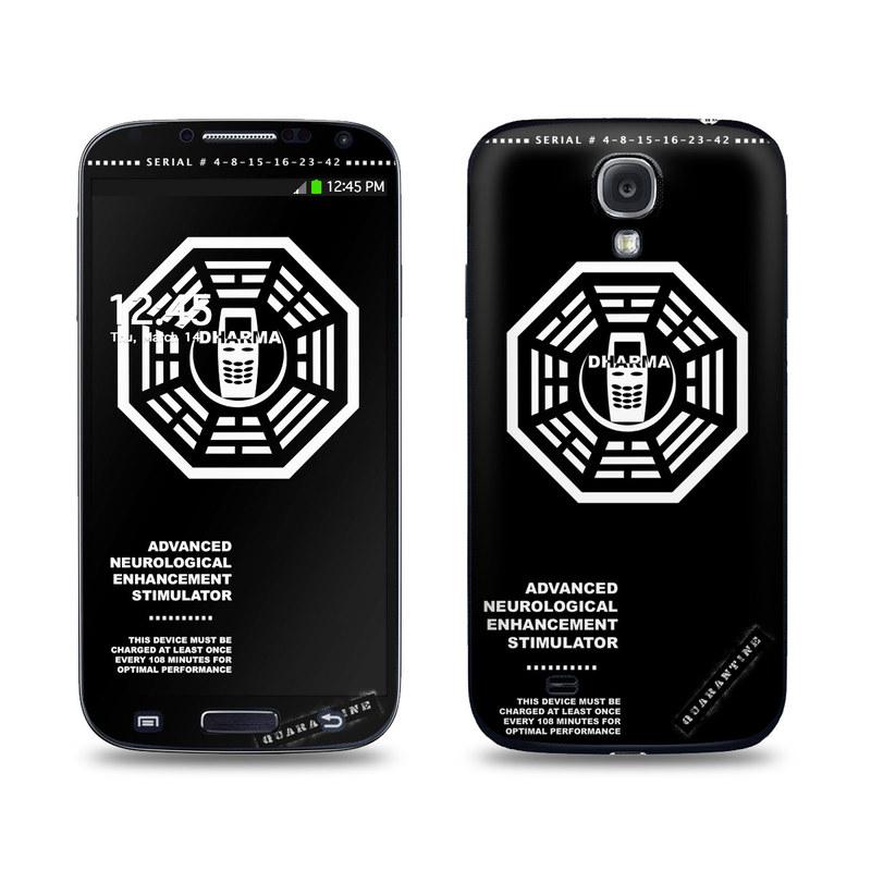 Dharma Black Galaxy S4 Skin