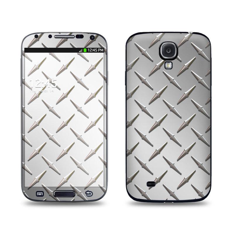 Diamond Plate Galaxy S4 Skin
