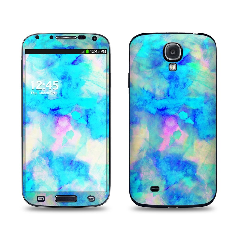 Electrify Ice Blue Galaxy S4 Skin