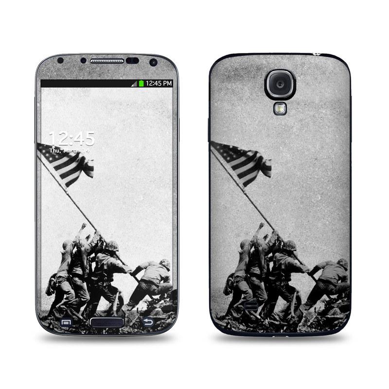 Flag Raise Galaxy S4 Skin