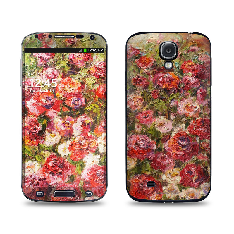 Fleurs Sauvages Galaxy S4 Skin