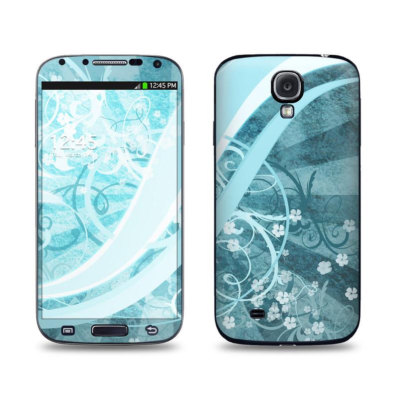 Flores Agua Samsung Galaxy S4 Skin