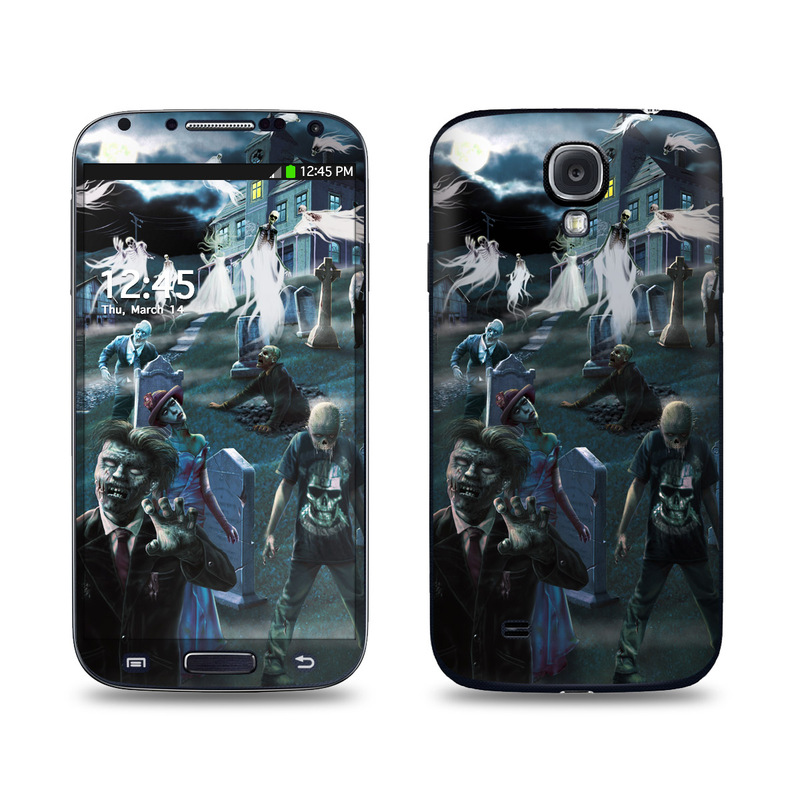 Samsung Galaxy S4 Skin design of Action-adventure game, Games, Adventure game, Pc game, Illustration, Art, Screenshot, Space, Digital compositing, Cg artwork with black, gray, blue colors