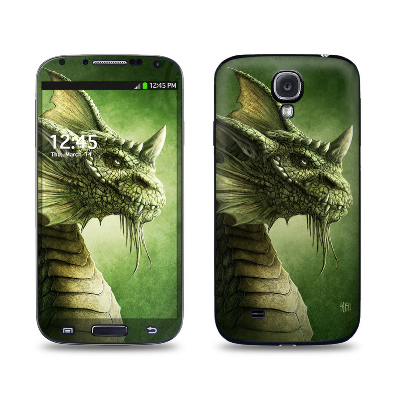 Green Dragon Galaxy S4 Skin