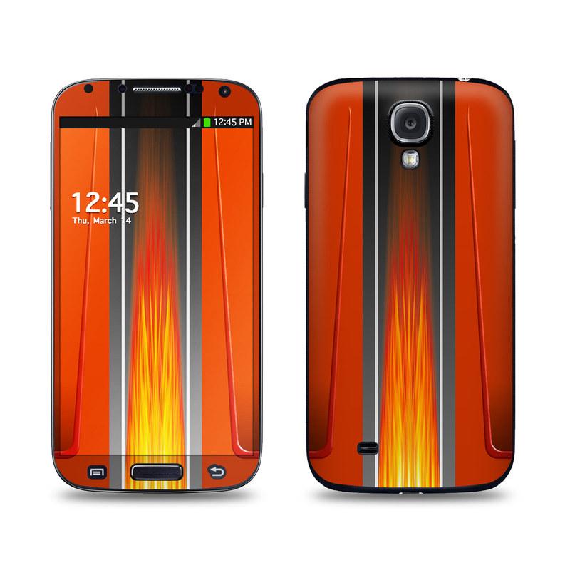 Hot Rod Galaxy S4 Skin