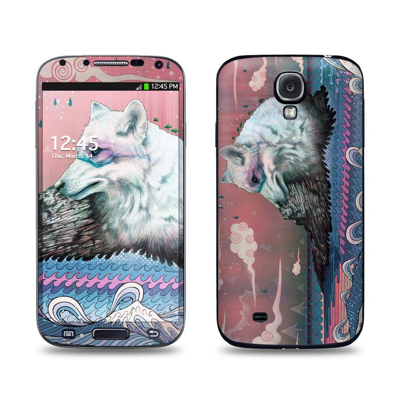 Lone Wolf Galaxy S4 Skin